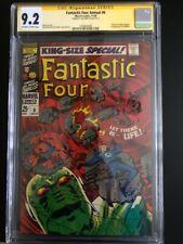 Fantastic Four Annual 6  CGC 9.2 SS (Sinnott)  1st Annihilus & Franklin Richards