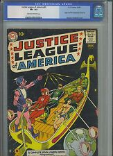 JUSTICE LEAGUE OF AMERICA #3 CGC VF+ 8.5; CM-OW; 1st app. Kanjar Ro!