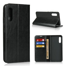 Luxury Genuine Leather Wallet Flip Case Stand Cover For Samsung Galaxy A90 5G