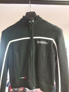 Ducati 80's Style Woman Donna Black Nera SweatShirt Felpa Small 986931013