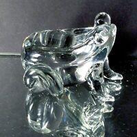 1 (One) JON STUDIO ART GLASS Frog Paperweight 1975 Vintage - Signed