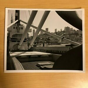 "Photo SF Maritime Ship Boat in San Francisco Bay Area on Photo Paper 8"" x 10"""