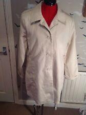 """GAP cotton trench coat, stone colour LARGE size14-16,  34""""L bust 38"""" vgc"""