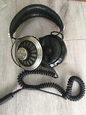 More details for vintage ross re-257 professional stereo headphones retro