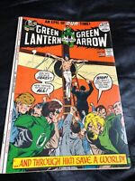 Green Lantern #89 Green Arrow Neal Adams Art!!  Higher Grade Bronze Age Beauty!!