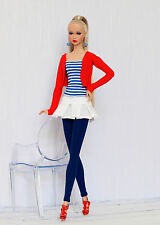 Marine outfit for Poppy Parker, Nu face, Barbie by Olgaomi