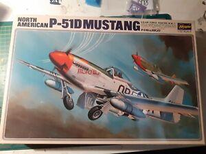 North American P51D Mustang 1/32  Hasegawa
