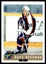 1992-93 Classic Cory Stillman #8