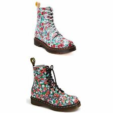 Lace Up Floral Low Heel (0.5-1.5 in.) Boots for Women