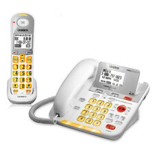 Uniden D3098 Corded/Cordless Phone with Large Backlit LCD Display and Flash