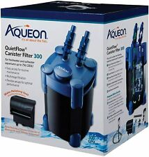 Aqueon QuietFlow Canister Filter 300 GPH, For Up to 55-100 Gallons