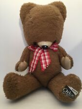 "Plush teddy bear ""Orlon"" (70s)"