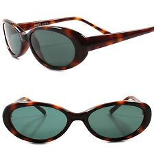 Classic True Vintage 70s 80s Rockabilly Fashion Womens Havana Cat Eye Sunglasses