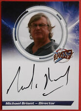 BLAKE'S 7 - MICHAEL BRIANT, Director - Autograph Card, Unstoppable Cards 2013