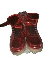 Red Light Up Shoes size 8 1/2