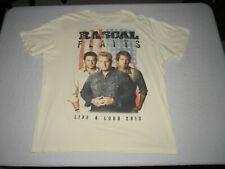 Rascal Flatts Men's Live & Loud 2013 Tour Concert Off White Shirt Size Xl
