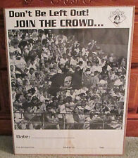 Vintage Pittsburgh Pirates Black And White Poster Rare Man Cave