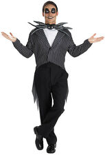 NEW JACK SKELLINGTON ADULT MENS NIGHTMARE BEFORE CHRISTMAS COSTUME -STD