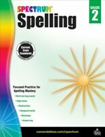 Spectrum Spelling, Grade 2, Paperback by Spectrum (COR), Brand New, Free ship...