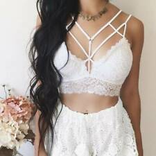 Women Sexy Casual Tank Top Vest Blouse Sleeveless Summer Crop Shirt Cami Top New
