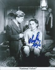 Mickey Rooney National Velvet autographed 8x10 photo with COA by CHA