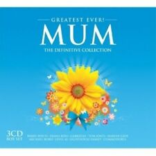 GREATEST EVER MUM (BARRY WHITE, DIANA ROSS, MARVIN GAYE, ...) 3 CD NEW+