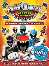 NEW  POWER RANGERS  ULTIMATE STICKER & ACTIVITY over 1000 STICKERS