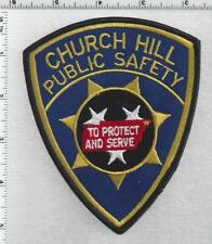 Church Hill Public Safety (Tennessee) 2nd Issue Shoulder Patch