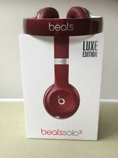 Beats By Dr Dre Solo 2 Luxe Edition Red