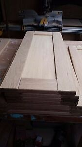 Hand Made Replacement Kitchen Doors Solid Oak Ref Cabinets