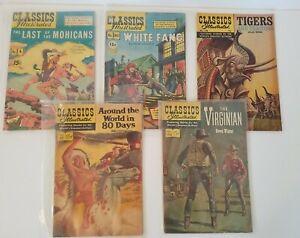 Lot Of 26 Classics Illustrated Comics