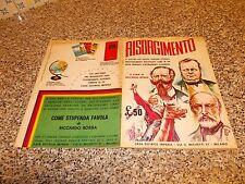 ALBUM RISORGIMENTO IMPERIA 1965 COMPLETO ORIGINALE  BELLO TIPO PANINI LAMPO EDIS