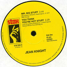 "12"" Vinyl EP - Jean Knight - Mr Big Stuff / You Think You're Hot Stuff /Carry On"