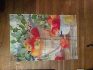 Toland Leading by Design Basket of Apples Spring Flag 36 X 24