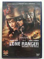 Lone ranger, Naissance d'un héros DVD NEUF SOUS BLISTER Johnny Depp