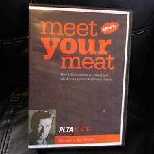 Meet Your Meat Peta DVD Narrated by Alec Baldwin