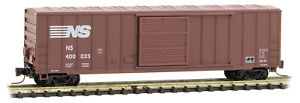 Micro-Trains MTL Z-Scale 50ft Ribbed Side Box Car Norfolk Southern/NS #400033