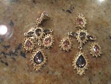 AVON Gilded Empire Convertible Earrings