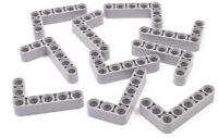 LEGO Technik - 10 x Liftarm 3x5 dick hellgrau / Liftarme / 32526 NEUWARE