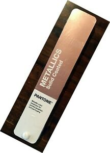 PANTONE® SWATCH BOOK METALLICS SOLID COATED 2020 New Shrink-Wrapped