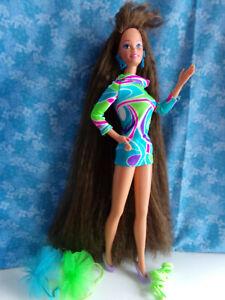 SUPERSTAR TOTALLY HAIR BARBIE BRUNETTE