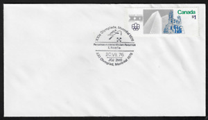 Canada Souvenir Cover — 1976, XXI Olympiad Montreal: Pentathlon #687 Lot 692