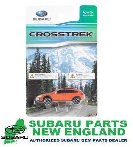 309254 GENUINE SUBARU CROSSTREK DIE-CAST ORANGE