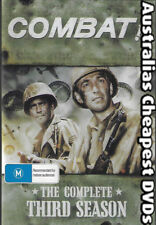 Combat The Complete Third Season DVD NEW, FREE POSTAGE WITHIN AUSTRALIA REG ALL