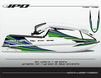 IPD Jet Ski Graphic Kit for Kawasaki 440 & 550 (JS2 Design)