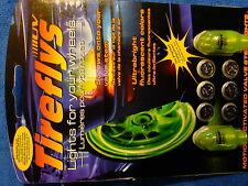 24 COOL TIREFLY LIGHTS FOR YOUR WHEELS 12PKG TOTAL OF 24 LIGHTS MOTION ACTIVATED
