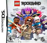 Lego Rock Band - Nintendo DS Game - Game Only