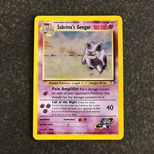 Sabrina's Gengar 14/132 Gym Heroes Pokemon Card