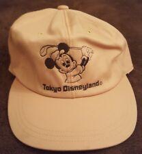 Vintage Tokyo Disneyland Mickey Mouse Adjustable Hat Cap Japan