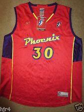 Phoenix Mercury WNBA Orange Basketball Reebok Jersey Womens LG L NEW